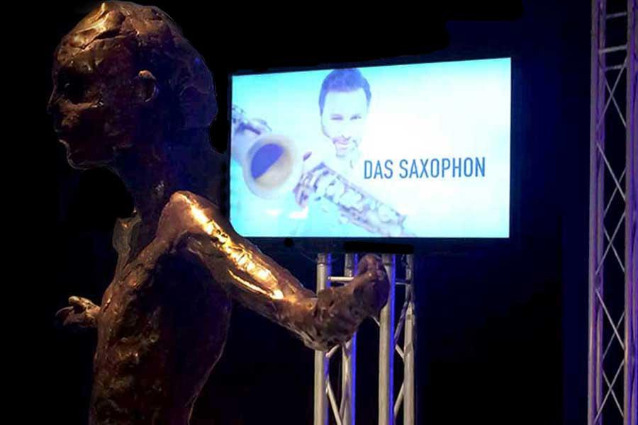 Saxophon für Dresden, Leipzig, Berlin, Hamburg, Düsseldorf, Köln, Frankfurt, Stuttgart, München